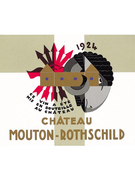 Mouton Rothschild 1924 Jean Carlu