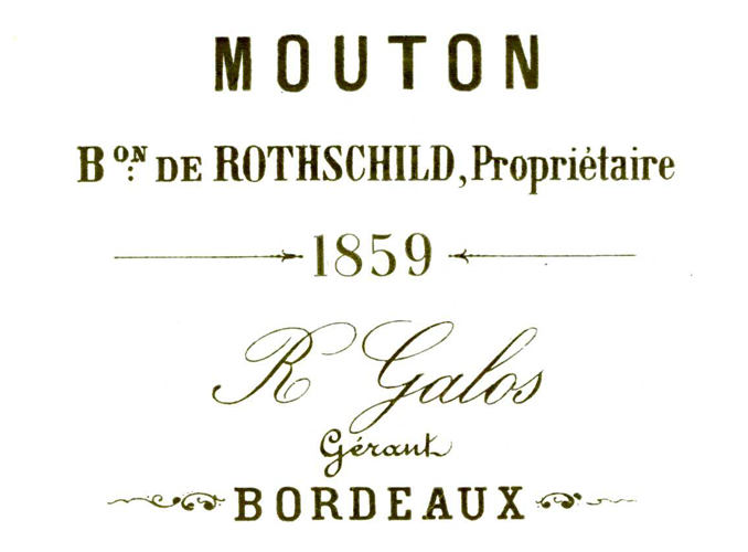 <p>The oldest bottle dates back to the 1859 vintage.</p>