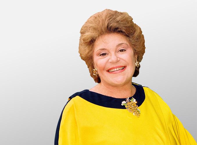 <p>La baronne Philippine de Rothschild.</p>