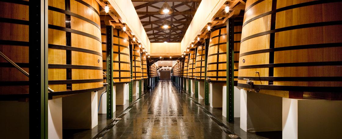 由Richard Peduzzi和Bernard Mazières设计的全新发酵车间,是木质及不锈钢的和谐组合